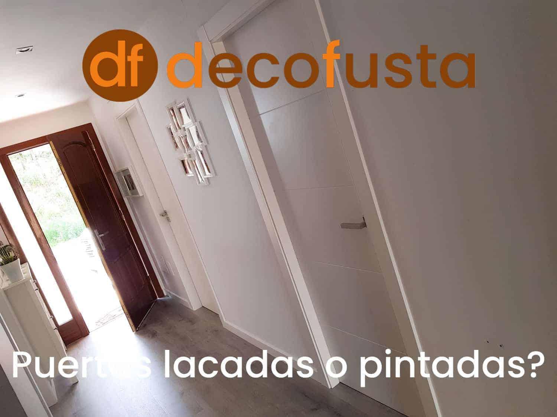 puertas lacadas o pintadas