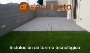 Instalacion de tarima tecnologica