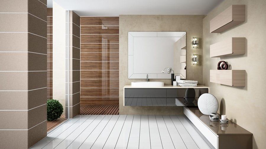 Muebles de bano con acabado Alvic