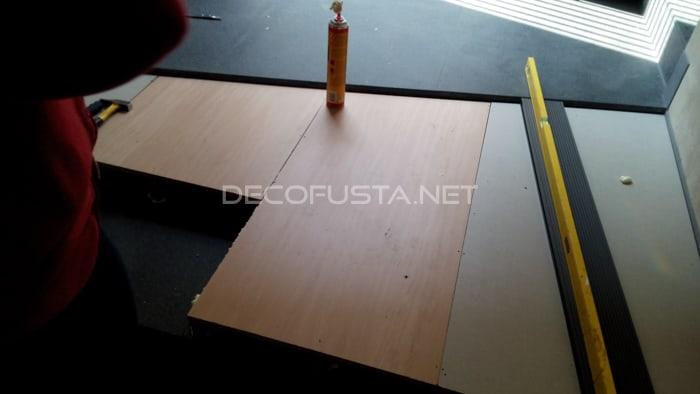 Fabricacion de la base de la rampa