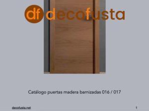 catalogo de puertas barnizadas