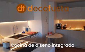 cocina de diseno integrada