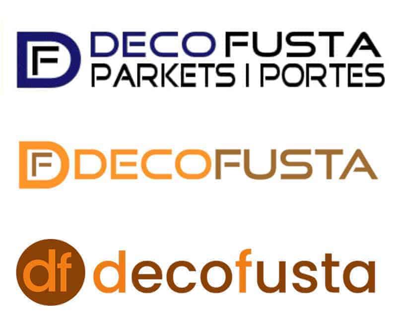 diseno de los logos de decofusta