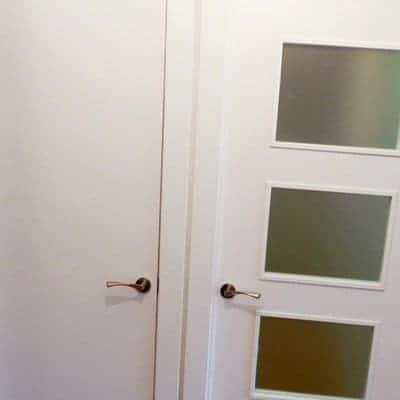 instalacion de puertas lacadas