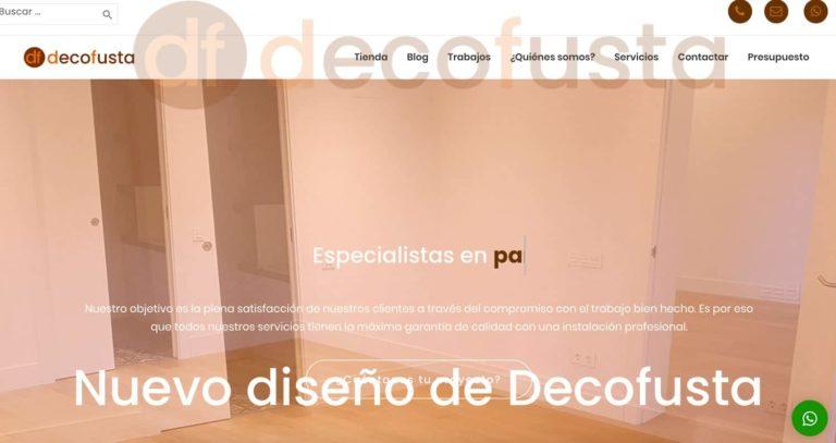 Nuevo diseño de Decofusta