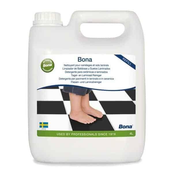 Bona recambio limpiador de suelos laminados 4 litros