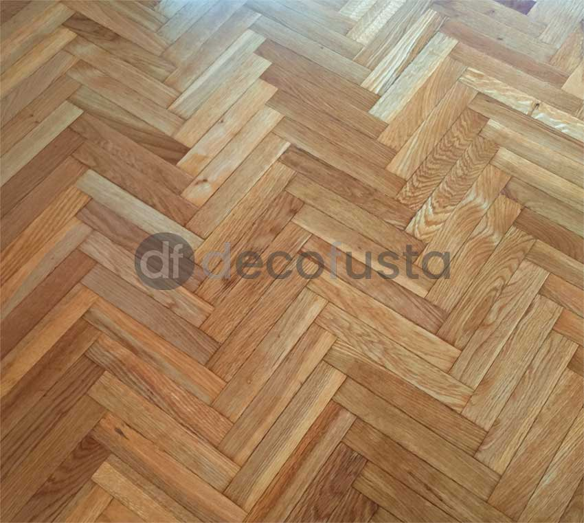 Parquet despues de la restauracion