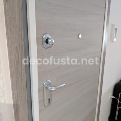 Puerta de seguridad acorazada interior