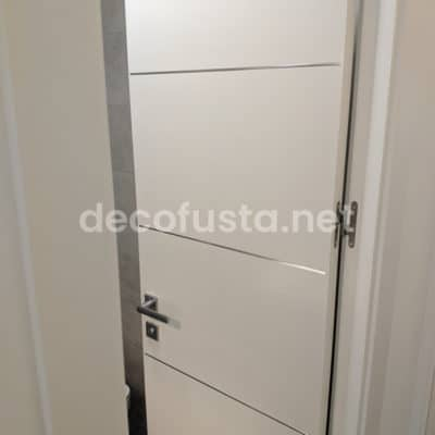 Puerta lacadas aluminio