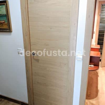 Puertas laminada roble rustico