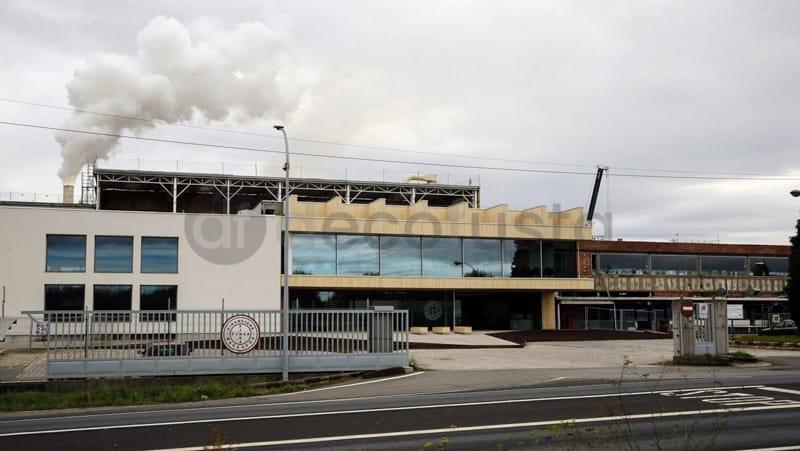 Entrada a la Fabrica Finsa en Galicia