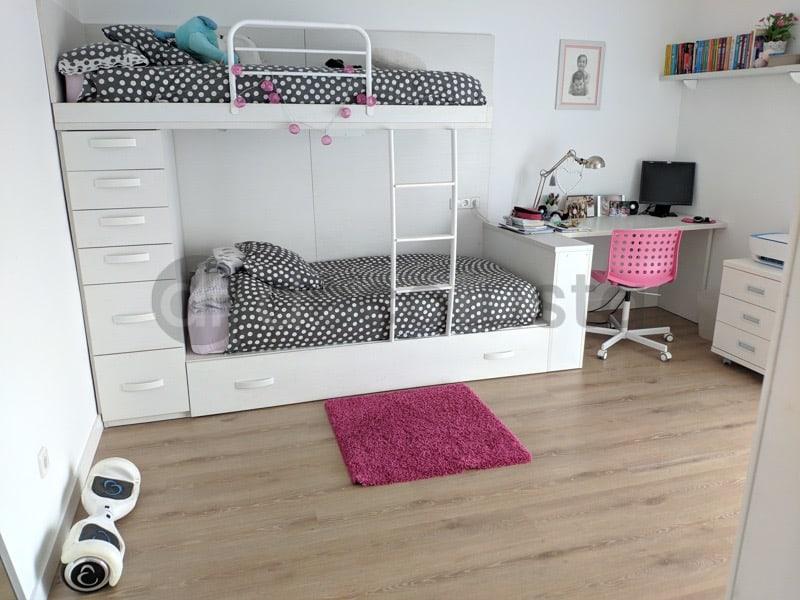 Habitacion juvenil con este modeno modelo de Etude 22 noom