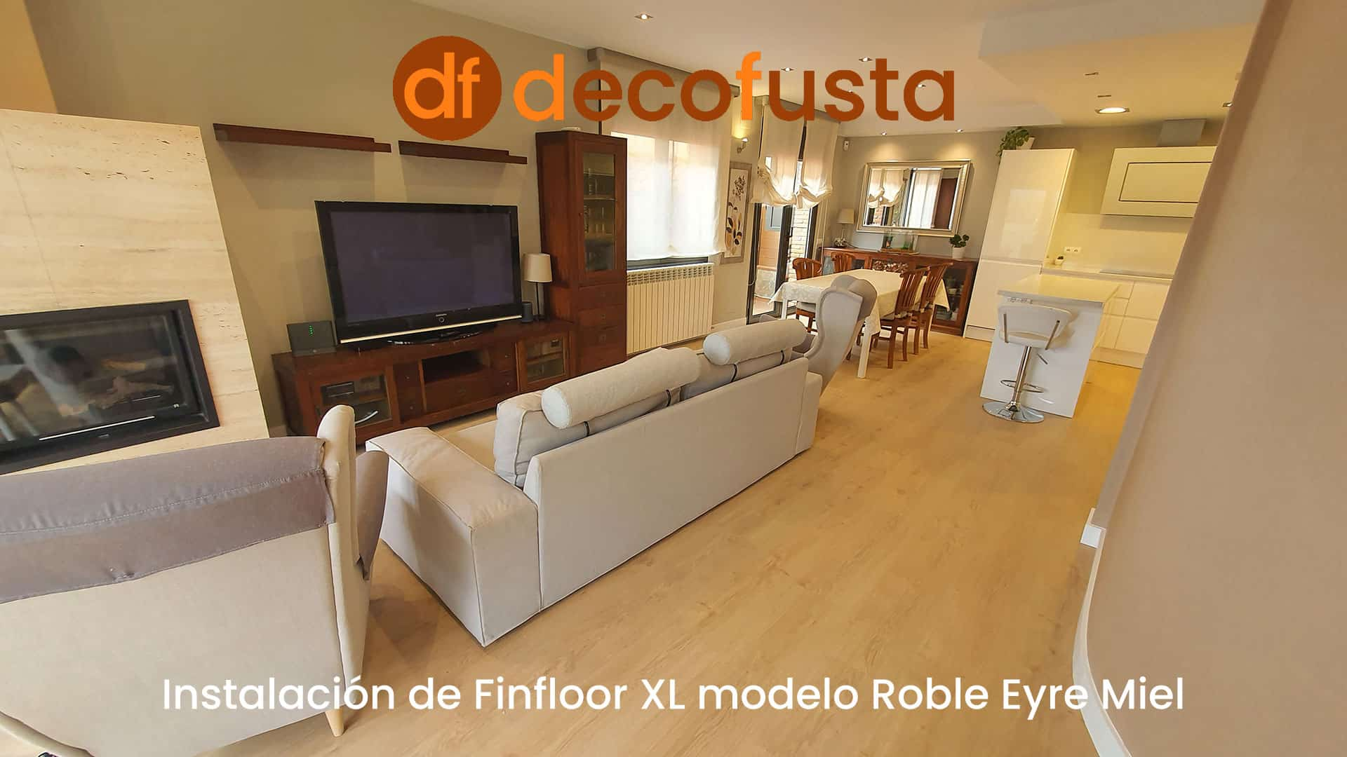 Instalación de Finfloor XL modelo Roble Eyre Miel