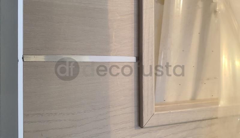 Detalle perfin de aluminio incrustado 1