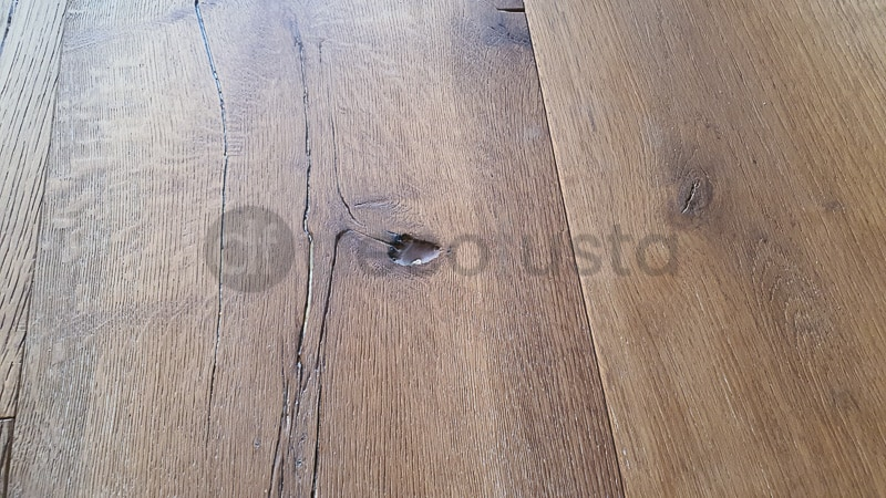 Nudos presentes en este suelo