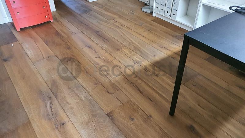 Milesime suelos de madera diferentes