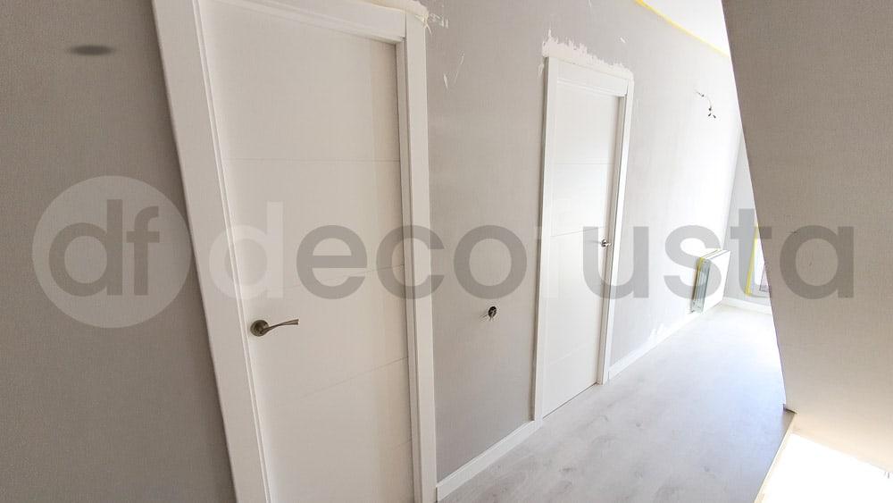 Puertas lacadas de 4 rnuras