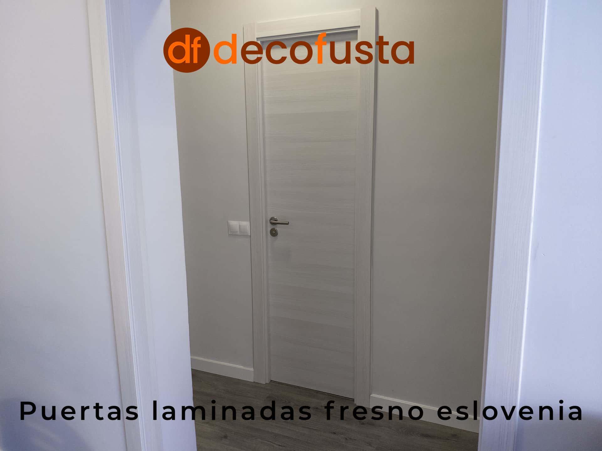 Puertas laminadas fresno eslovenia