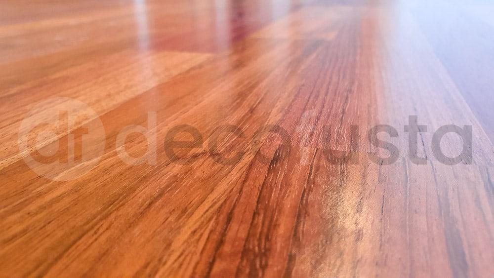 Textura de la madera barnizada