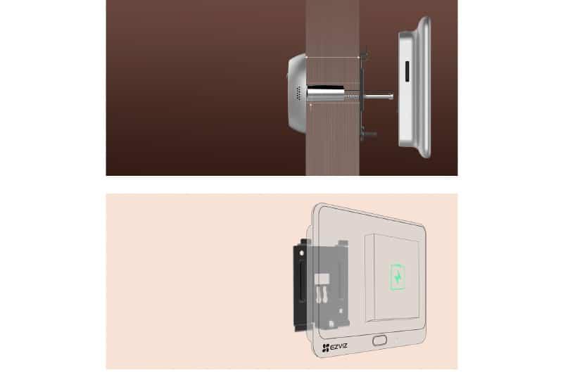 Instalacion de la mirilla Envix DP1c