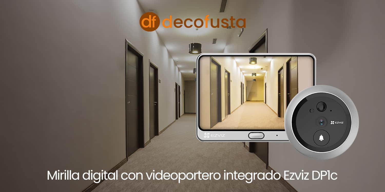 Mirilla digital con videoportero integrado Ezviz DP1c
