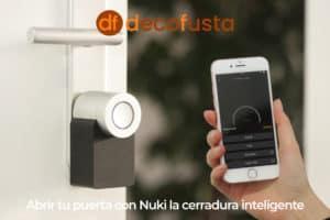 Abrir tu puerta con Nuki la cerradura inteligente
