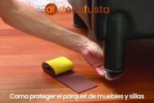Como proteger el parquet de muebles y sillas