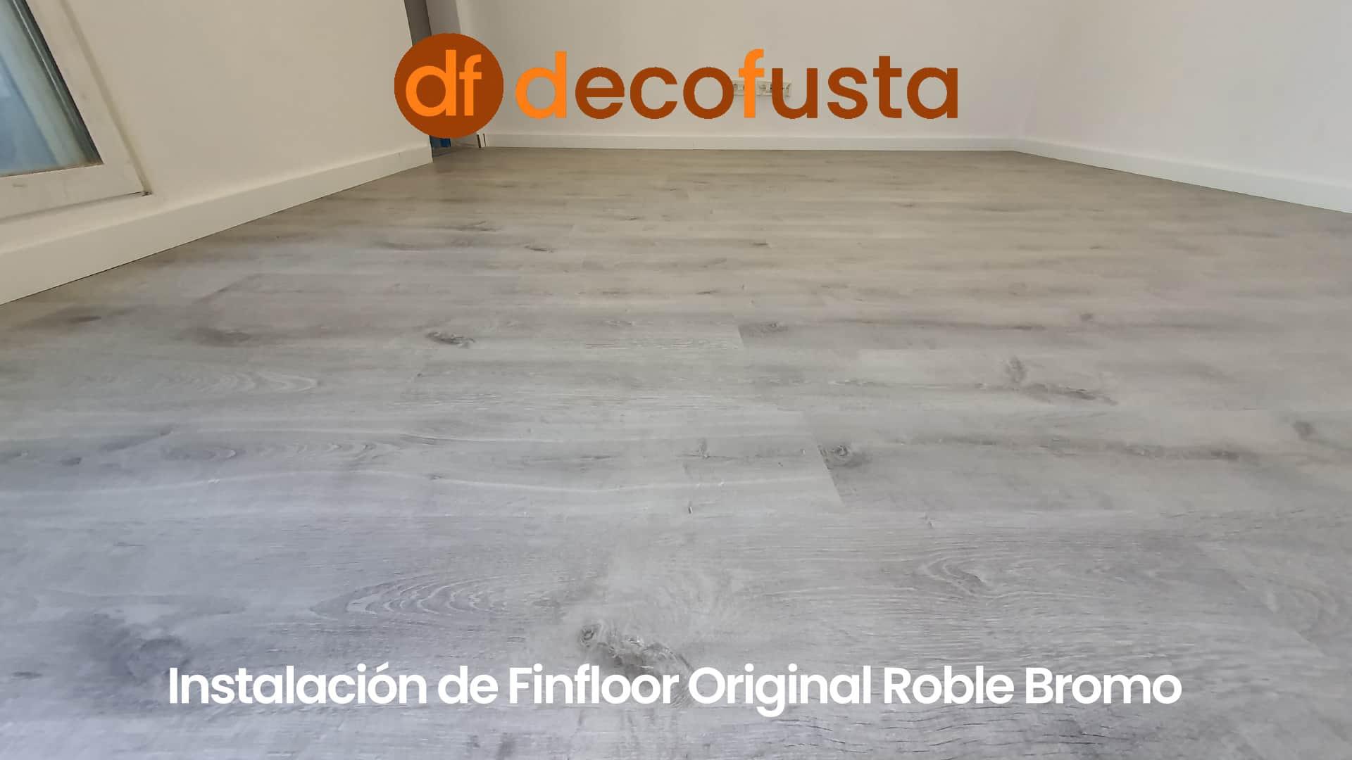Instalación de Finfloor Original Roble Bromo