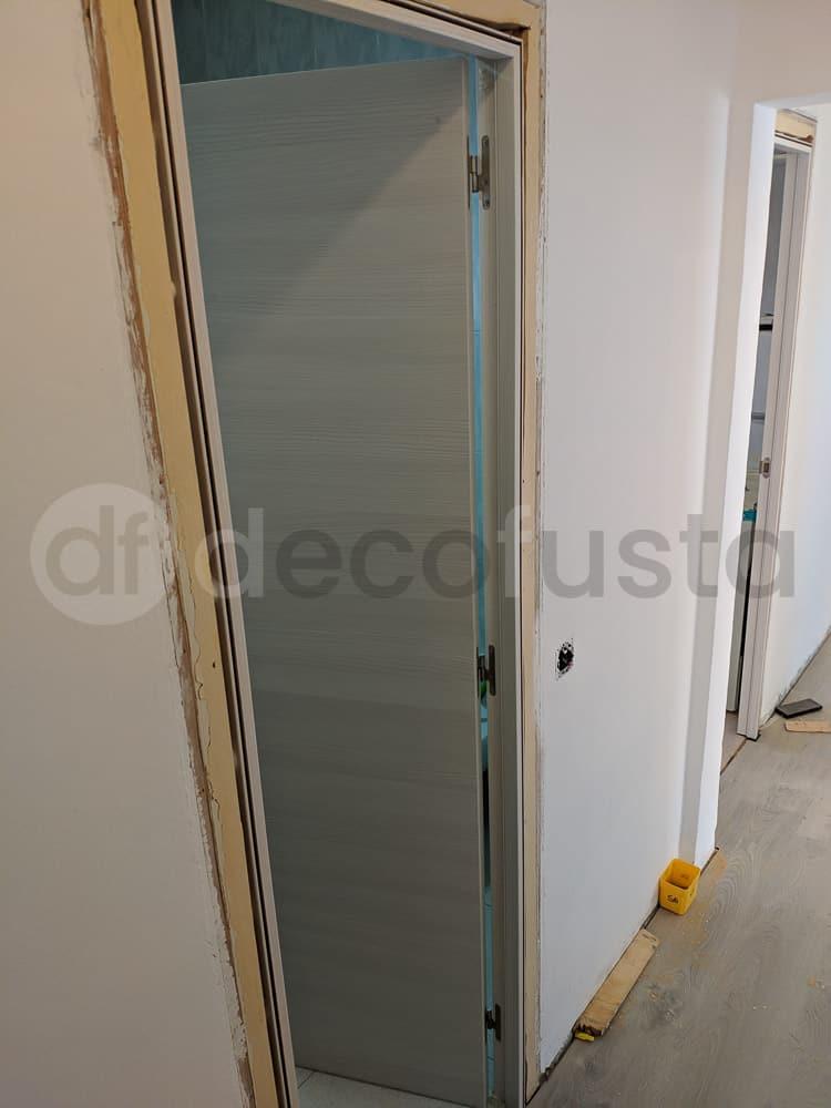 Instalando las puertas lamiandas
