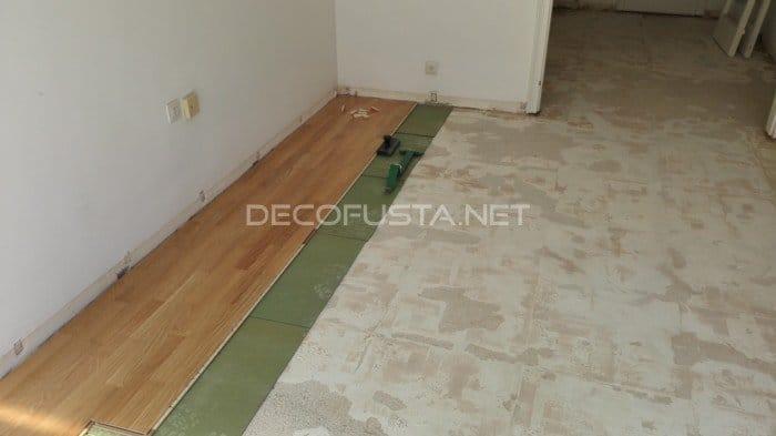 Como se pone parquet cmo instalar suelo laminado como un - Como se pone tarima flotante ...