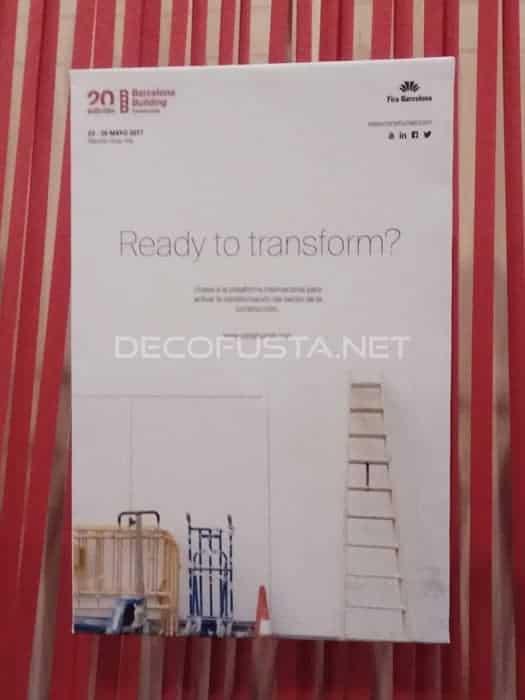 Cartel de la 20 edición de construmat