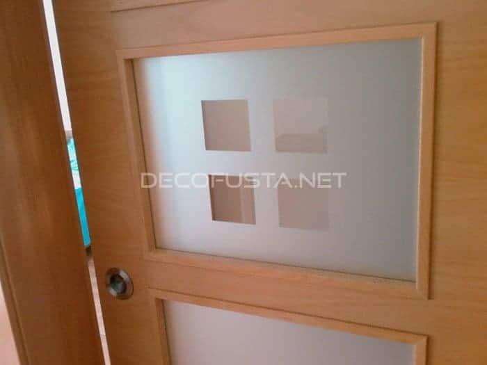 Puerta cristalera corredera con gu a vista decofusta - Aironfix para cristales ...
