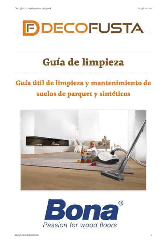 Guia util de limpieza y mantenimiento de suelos de parquet y sinteticos