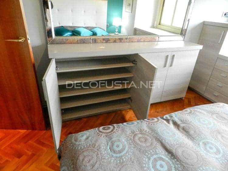 Muebles de habitaci n a medida decofusta for Zapatero habitacion