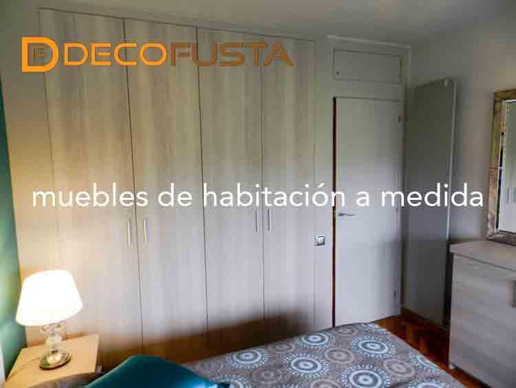 Muebles de habitacion a medida