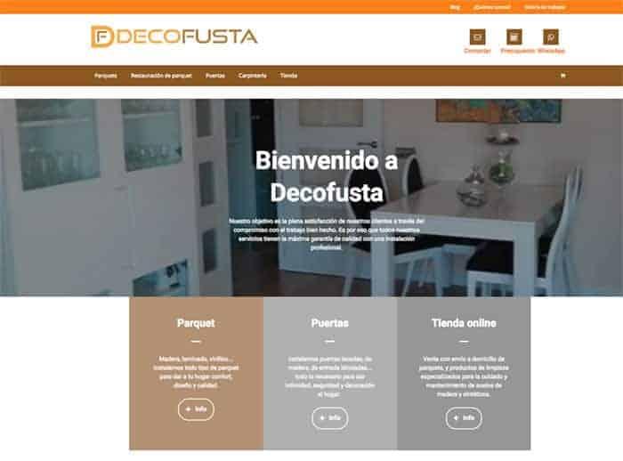 Nueva pagina inicio con mas info