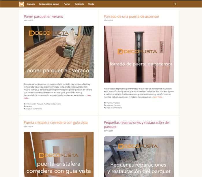 Nuevo diseño del blog decofusta
