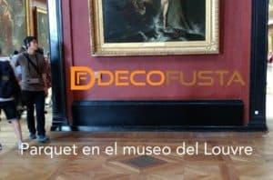 Parquet en el museo del Louvre