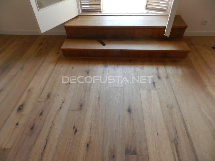 Parquet madera natural