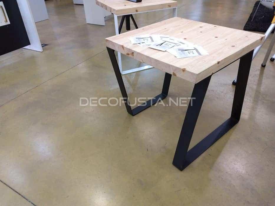Patas para mesas de hierro
