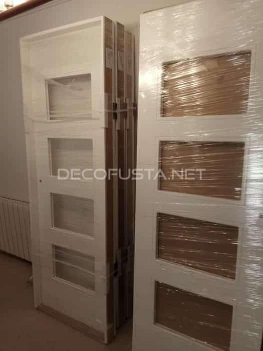 Como limpiar puertas lacadas en blanco interesting puerta for Limpiar armarios de madera