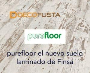 Purefloor en nuevo suelo laminado de Finsa