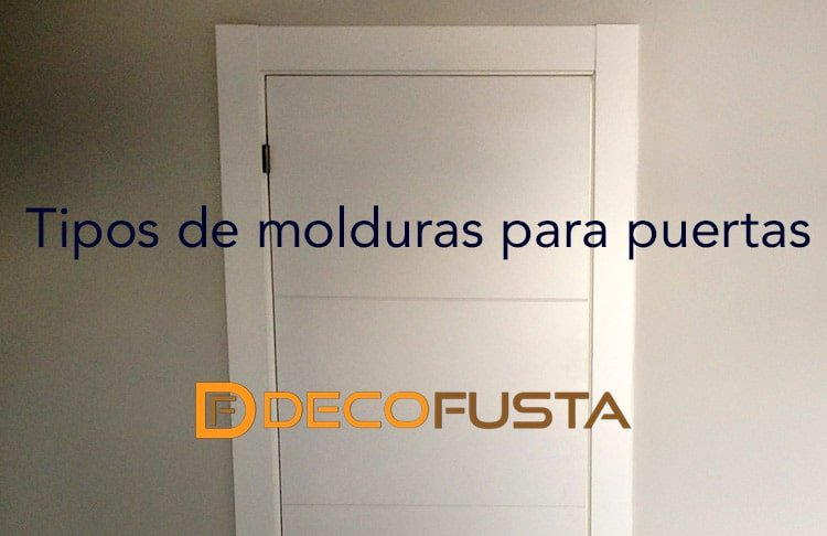 Tipos de molduras para puertas decofusta for Molduras de madera para pared