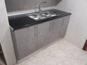 cocina laminado cemento