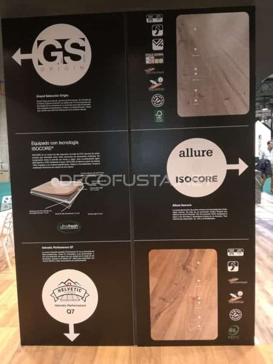 Allure isocore 2018, bariperfil, maderalia, stands