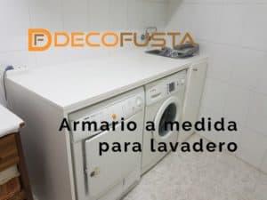 armario a medida para lavadero
