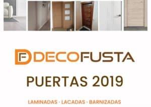 Catalogo de puertas decofusta 2019