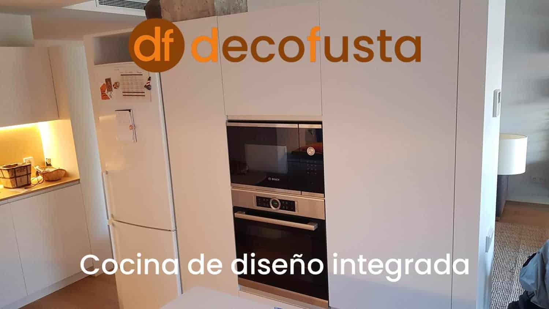 Cocina de diseño integrada
