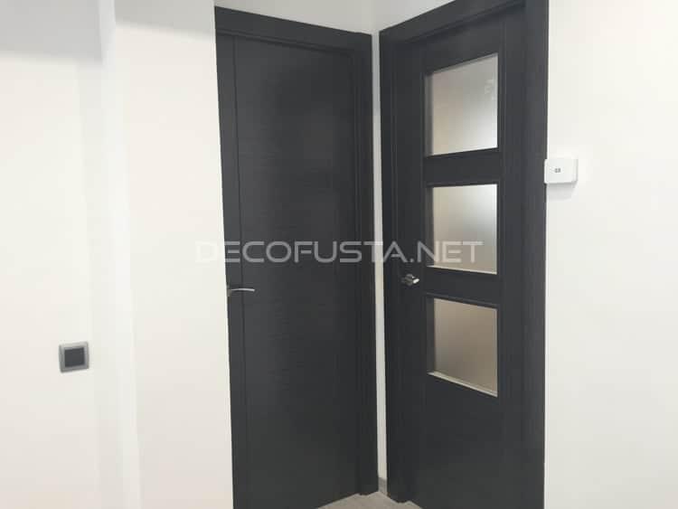 Colocación de puertas de madera