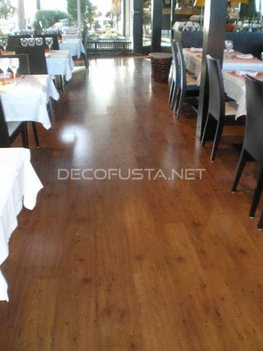 Flint el parquet mas resistente para restaurantes